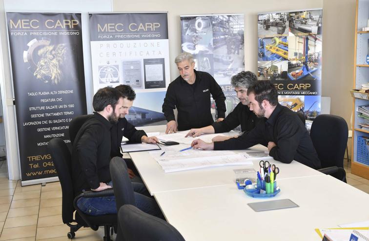 In Ufficio Tecnico : Ufficio tecnico u mec carp